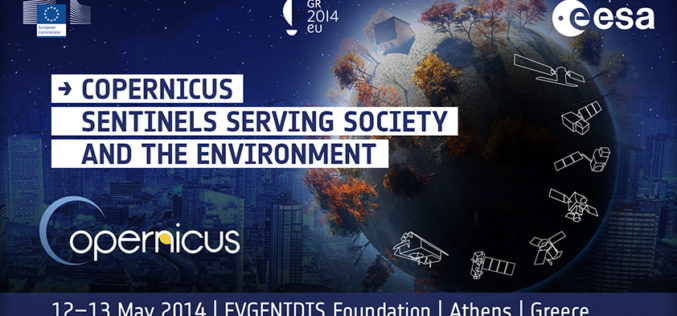 "ESA's Conference- ""Copernicus- Sentinels Serving Society and the Environment"""