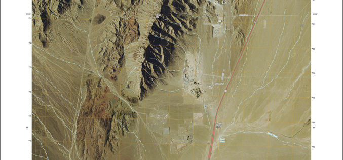 New US Topo Maps for Nevada Include Trails