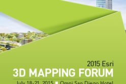 2015 Esri 3D Mapping Forum – Creating the Future of 3D GIS