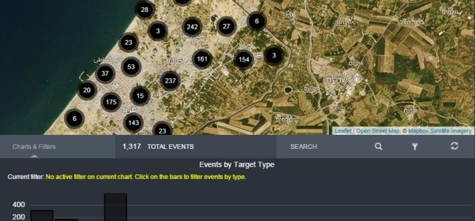 Amnesty International Launches Online Tool Mapping Exposing Israeli Attacks in Gaza