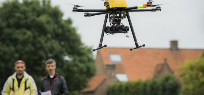 Trimble Takes Flight with New Multirotor Unmanned Aircraft System
