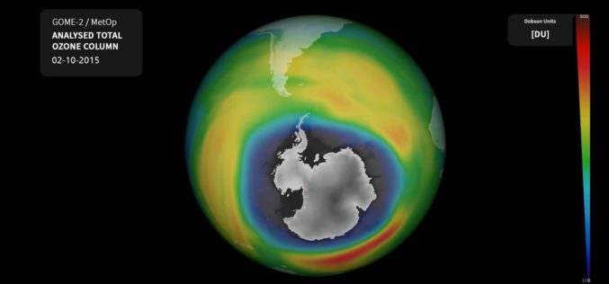 Ozone Hole Nears Record Size Again