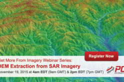 Webinar Series: DEM Extraction from SAR Imagery