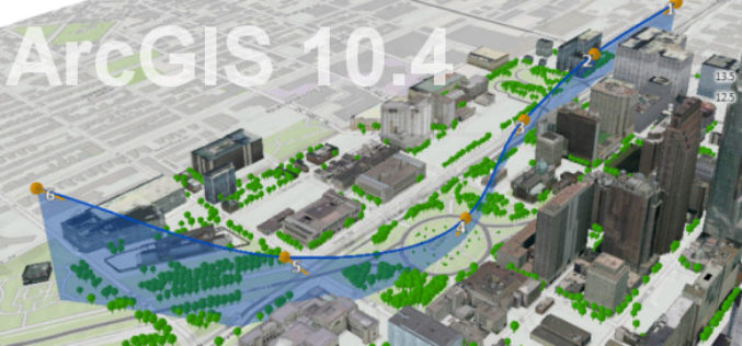 What's New With ArcGIS 10.4?