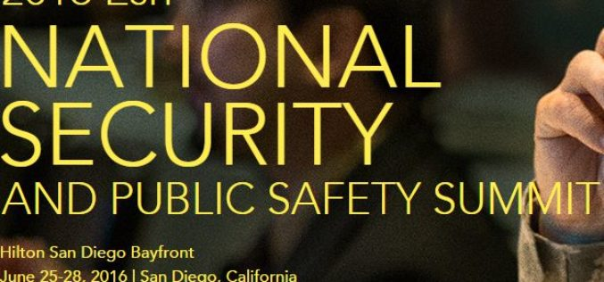 2016 Esri National Security and Public Safety Summit