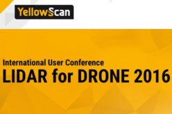 YellowScan LiDAR for Drone 2016: User Conference will be held June 22-23 in Château Flaugergues, Montpellier, France