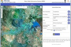 Temporal Repetitive Mapping of Water Bodies Across India