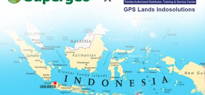 Supergeo Announces Partnership with GPS Lands Indosolutions in Indonesia
