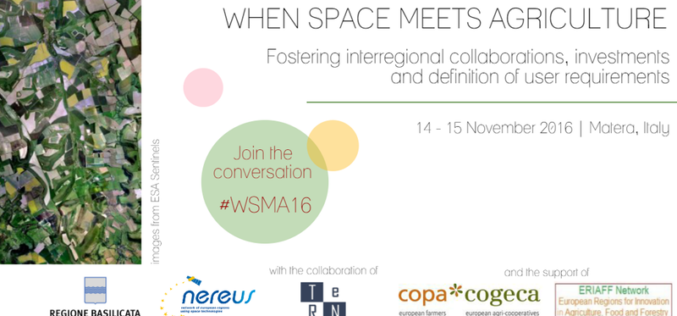 When Space Meets Agriculture – Regional Workshop