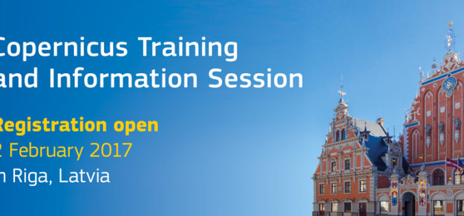 Copernicus Training and Information Session in Riga – Registration is Open
