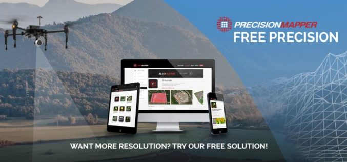 PrecisionHawk Launches Free PrecisionMapper Software for Drone Mapping