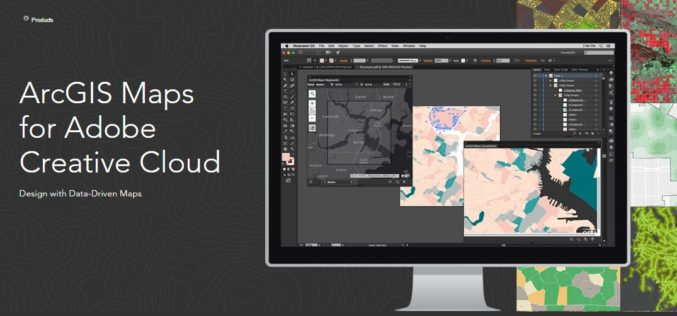 Esri Announce the Release of ArcGIS Maps for Adobe Creative Cloud!