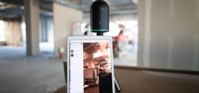 Leica Geosystems BLK360 3D scanner wins Mondial du Bâtiment Innovation Award
