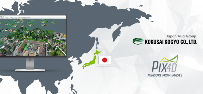 Pix4D Partners with Kokusai Kogyo in Japan to Deliver a 3D Geospatial Analysis Cloud Service