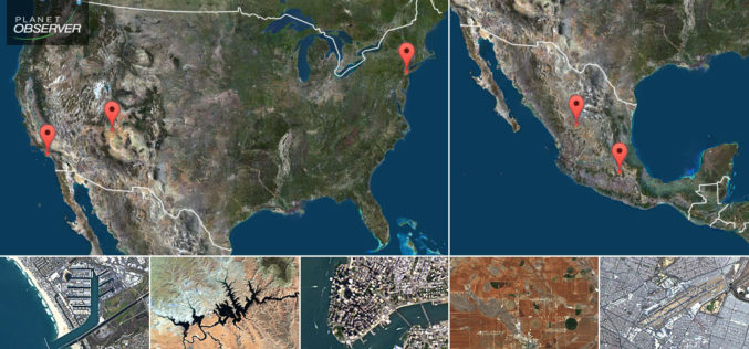 PlanetObserver Presents New PlanetSAT Updates  Imagery Basemap of the United States and Mexico