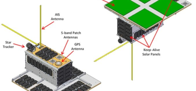 NorSat-3 Maritime Tracking Microsatellite Ordered by Norwegian Space Centre, Under Construction at SFL