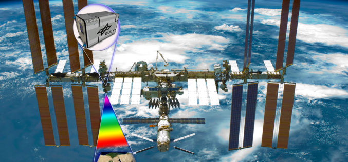 Hyperspectral Instrument DESIS En Route to International Space Station in 2018