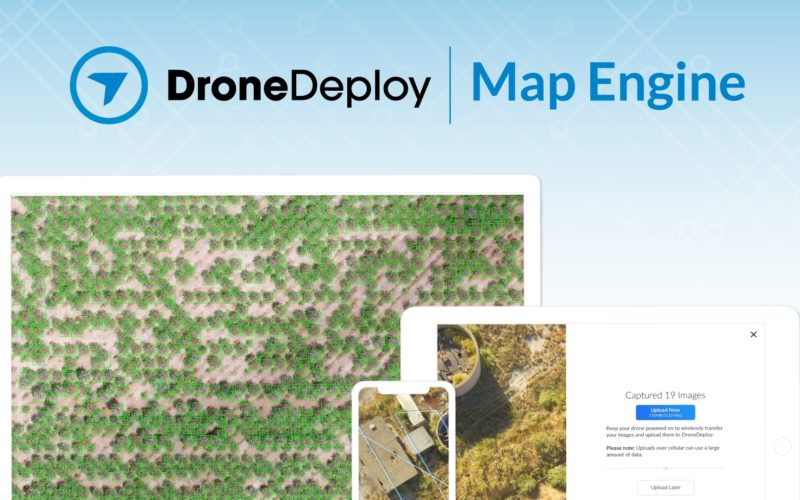 DroneDeploy Releases Intelligent Cloud Photogrammetry