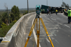 Total Station to Investigate Traffic Collision
