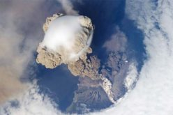 Dazzling Russian Volcano Eruption Seen from the Space