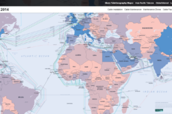 Submarine Cable Map of The World