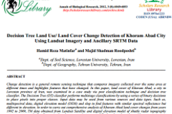 Decision Tree Land Use/ Land Cover Change Detection of Khoram Abad City  Using Landsat Imagery and Ancillary SRTM Data