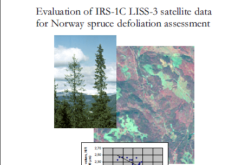 Evaluation of IRS-1C LISS-3 satellite data for Norway spruce defoliation assessment