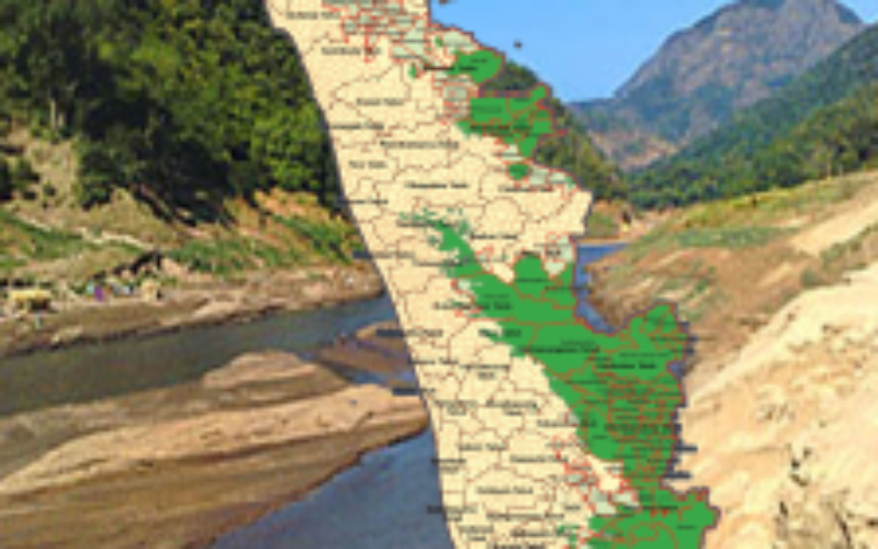 Callous Approach of KSREC in Mapping Ecologically Sensitive Areas