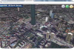 SuperGIS 3D Earth Server 3.2 Officially Launched