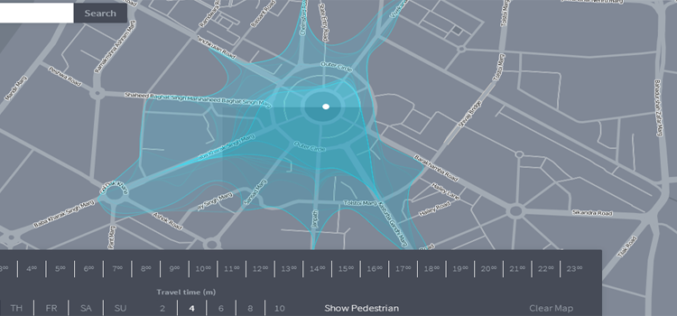 Isoscope a New Way to Explore and Visualize Mobility