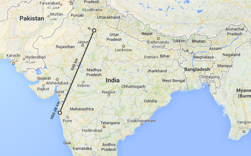 New Google Maps to Measure and Calculate Aerial Distances