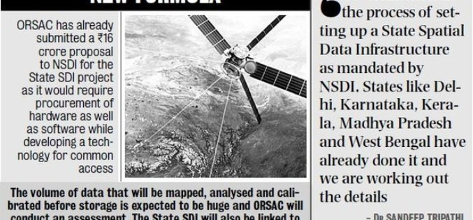 ORSAC to Frame Policy for Common Pool of Geo-spatial Info