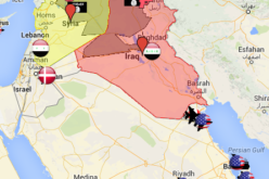 Mapping Air Strike and Air Base locations for the U.S.-led airstrikes on ISIS