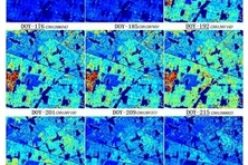 Retrieval of a Temporal High-Resolution Leaf Area Index (LAI) by Combining MODIS LAI and ASTER Reflectance Data