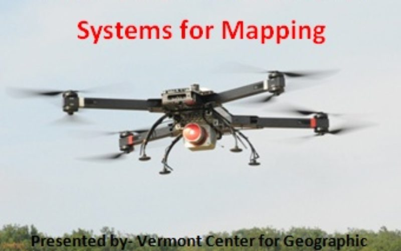 Webinar: Unmanned Aerial Systems for Mapping