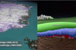 NASA First Ever Mapped Greenland's Ice Sheet in 3D