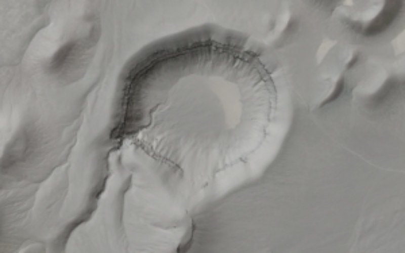 Airborne LiDAR Datasets Covering Two Volcanic Fields and a River Confluence