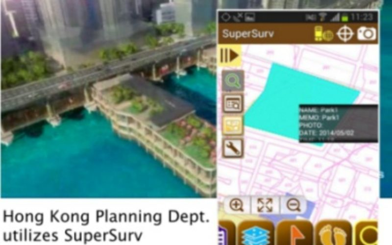 Hong Kong Planning Department Selects SuperSurv (Android) for Future City Plan