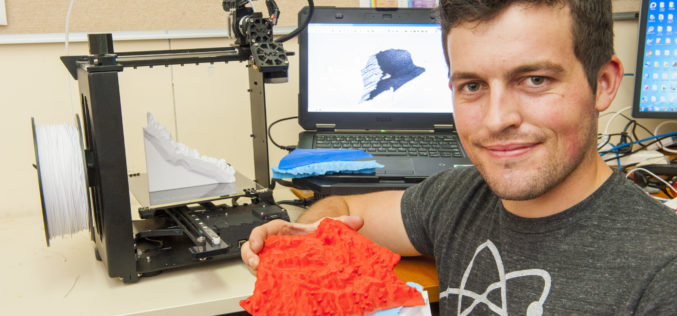 3D Printing to Illustrate Agricultural Potential of Farmlands