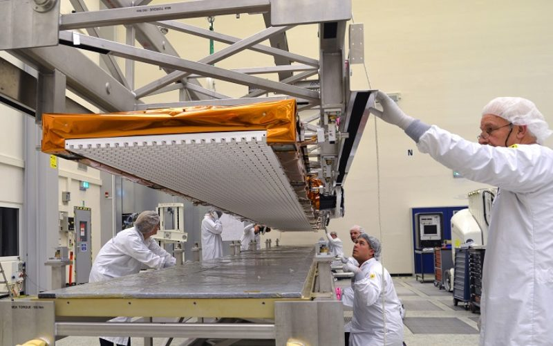 Airbus Defence and Space Delivers Sentinel-1B Radar with an Accuracy of a few Millimeters for Europe´s Copernicus Radar Satellite Mission