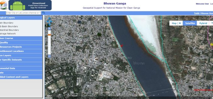 Pollution Monitoring of River Ganga Using Geospatial and Crowd-Sourcing Technologies