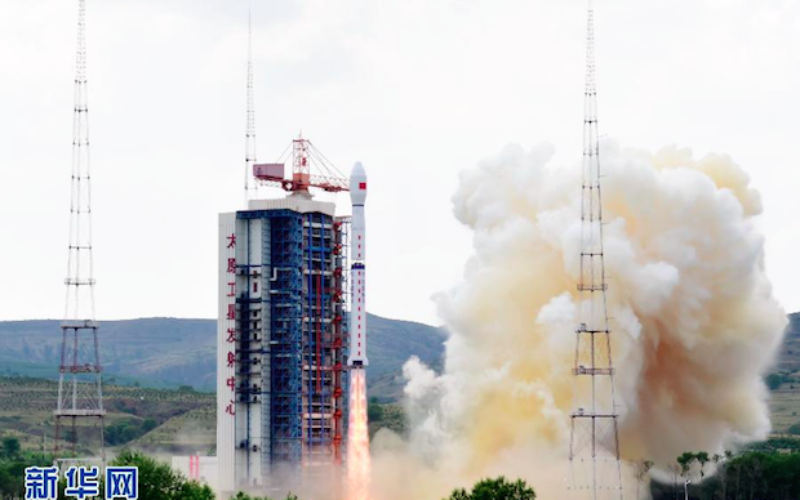 China Launches Gaofen 8 Earth Observation Satellite