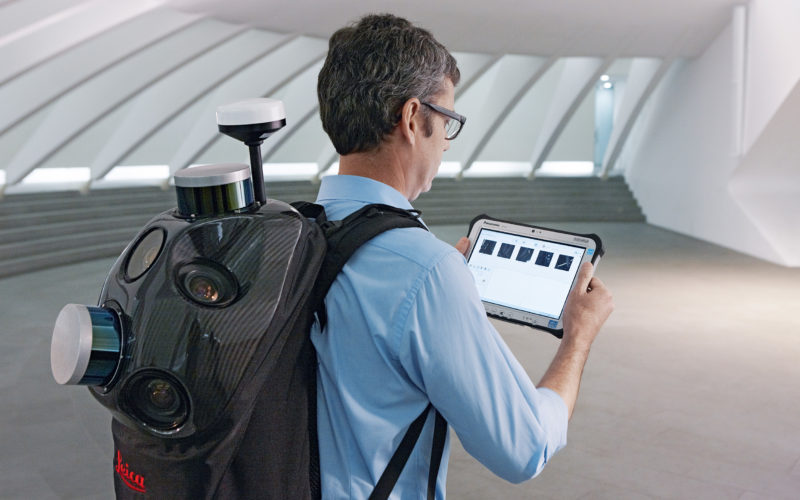 Leica Introduce Leica Pegasus: Backpack Industry First Wearable Reality Capture