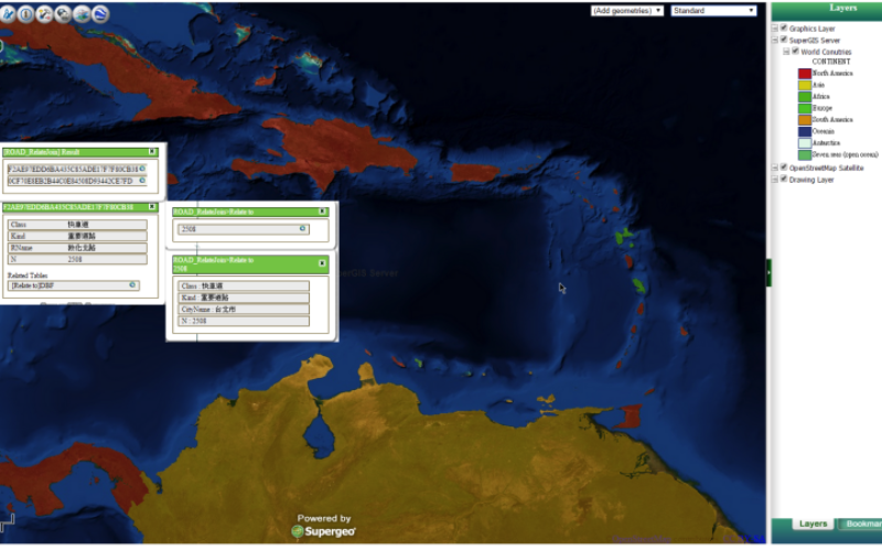 SuperGIS Server Extends Map Possibilities with Various Resources