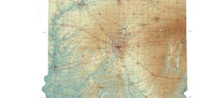 New State Map from Indiana Geological Survey Makes Use of High-Res Imaging