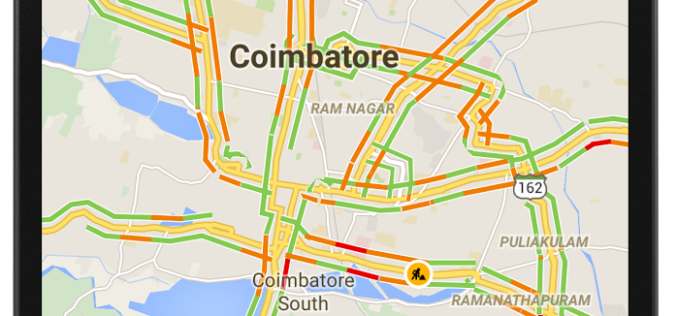 12 Cities in India to Get Live Traffic Updates Through Google Map