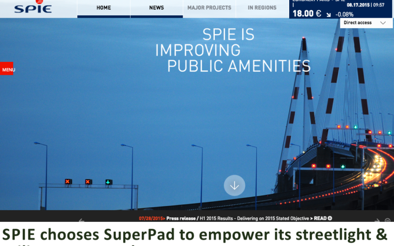 French Energy Company SPIE chooses SuperPad To Enhance Survey Efficiency