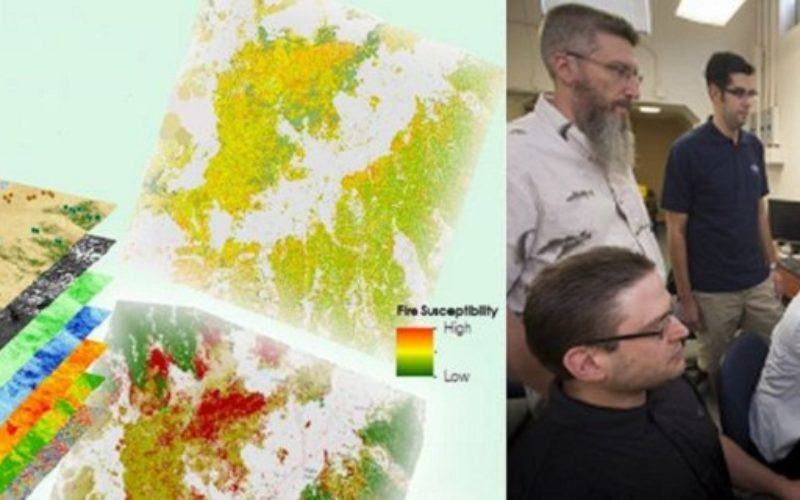 A Landsat based Tool to Map Wildfire Hazard and Susceptibility