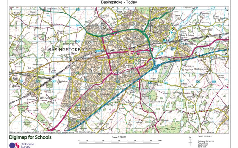 Digimap for Schools Launches 1950s Maps of Great Britain