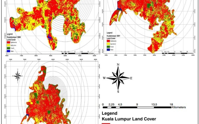 Monitoring and Modeling of Urban Growth Through Remote Sensing and GIS